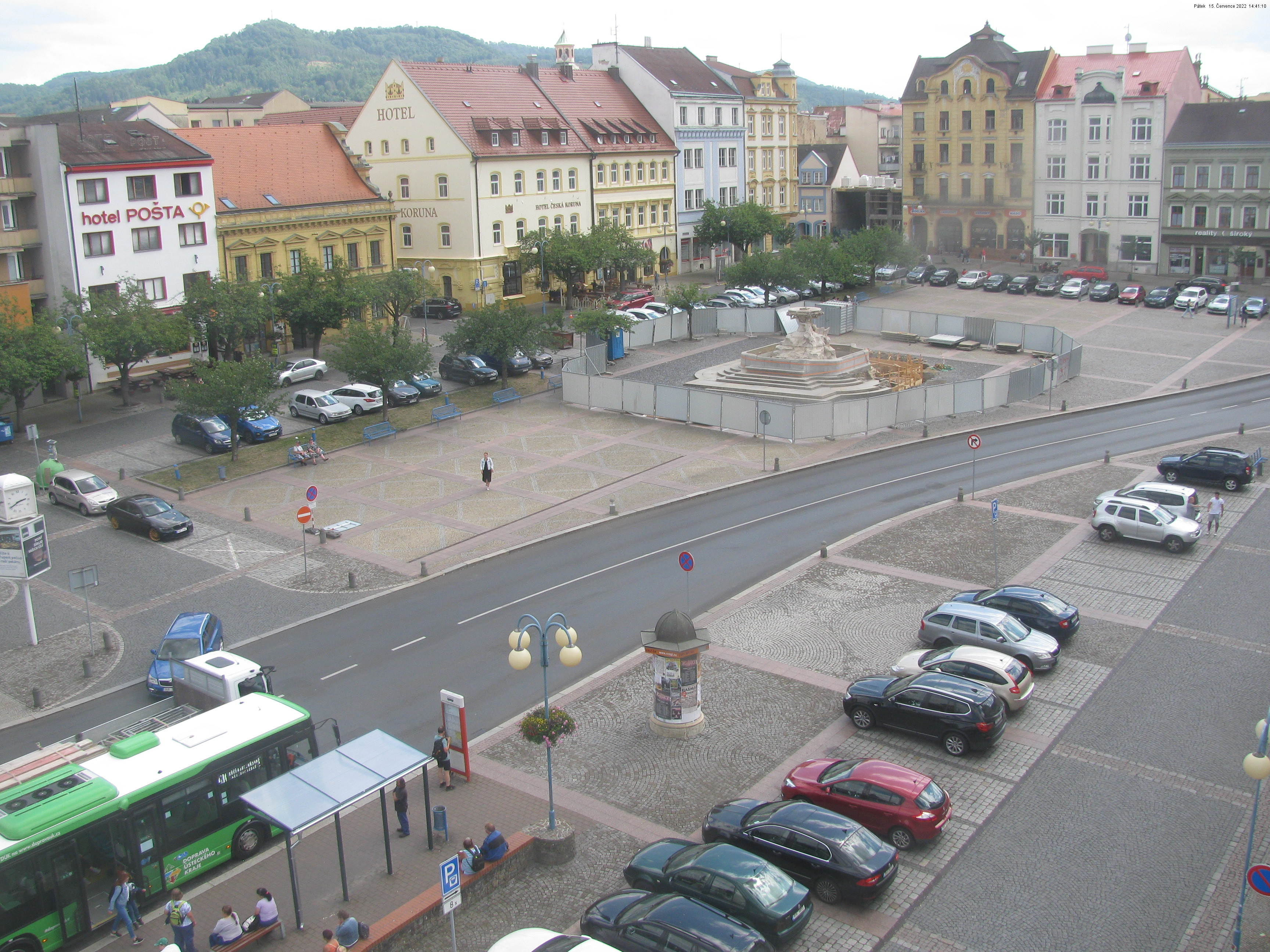 Webkamera - Děčín